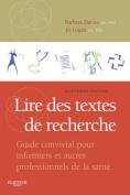 Lire Des Textes de Recherche [FRE]