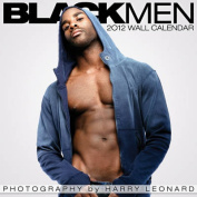 2012 Black Men Wall Calendar