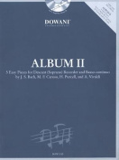 Album Volume 2 (Easy) for Descant (Soprano) Recorder and Basso Continuo