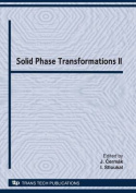 Solid Phase Transformations