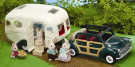 Sylvanian Families - The Caravan and Family Car
