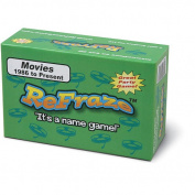 ReFraze Movie Edition 1986 to Present Card Game
