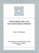 Texts from the Late Old Babylonian Period