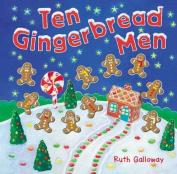 Ten Gingerbread Men