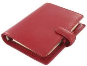 Filofax Finsbury Organiser Pocket Red