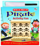 Write-on Wipe-off Pirate Activity Fun