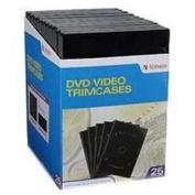 VERBATIM 94837 CD DVD 25pk Video Trim case