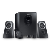 LOGITECH Z313 Speaker System Headphone Jack 48 Hz to 20 kHz 3 dB 25 W (RMS) / 50 W (PMPO) input
