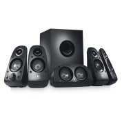 LOGITECH Z506 Surround Sound Speakers, 5.1 channel, Down-firing Subwoofer, 75 watts(RMS), Dedicated