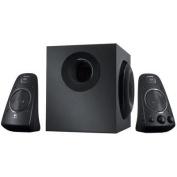 LOGITECH Z623 Speaker System 200 watts (RMS) THX-Certified 2.1 Multiple inputs Integrated controls