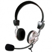 Headset Deluxe With Microphone And Volum