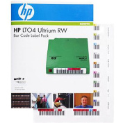 For  For  Hewlett Packard LTO4 Ultrium Read/Write Bar Code Label Pack