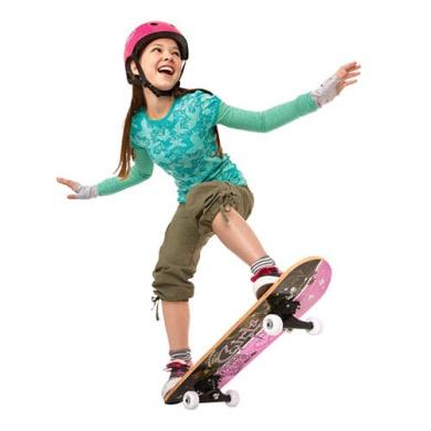 Razor Girl's 70cm Girls Rule Skateboard Combo