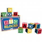 Large ABC Wood Blocks