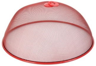 Food Mesh Cover 35x15cm Red