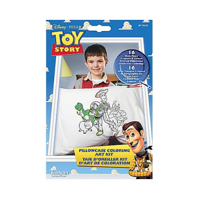 Toy Story Pillowcase Colouring Art Kit