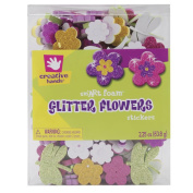 SmArt Foam Glitter Stickers, 70ml, Flowers