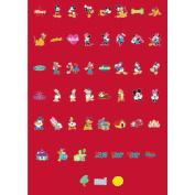 Cricut Licenced Shape Cartridge-Mickey & Friends