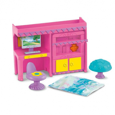 fisher price dora the explorer dollhouse furniture