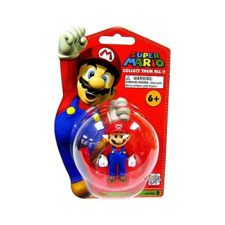 Super Mario Brothers Series 2-3 inch Vinyl Mini Figure - Mario