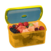 Fit & Fresh Kids Smart Portion 2 Cup Chill Container, Assorted Colours