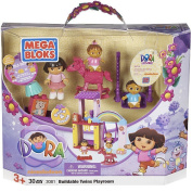 Mega Bloks Dora the Explorer Buildable Playset - Family Nursery 23 Pieces
