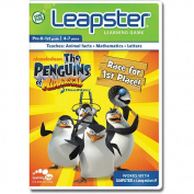 LeapFrog Leapster Educational Game Cartridge - The Penguins of Madagascar