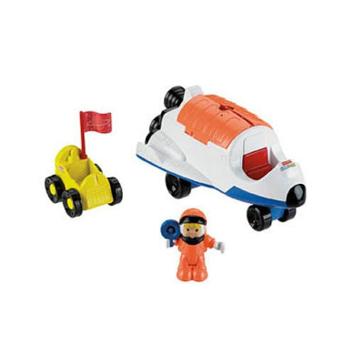 Fisher-Price Little People Rumble 'N Blast Space Ship