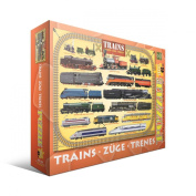 Jigsaw Puzzle 100 Pieces 33cm x 48cm -Steam Locomotives