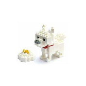 Nanoblock MicroSized Building Block Figure Terrier