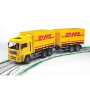 Man DHL Truck with Trailer