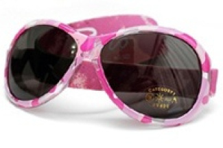Retro Banz Baby infants' sunglasses: Pink Diva