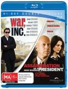 Assassination of a High School President / War, Inc   [2 Discs] [Region B] [Blu-ray]