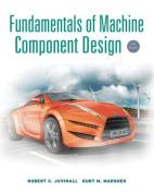 Fundamentals of Machine Component Design [With CDROM]