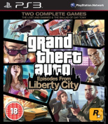 Grand Theft Auto - Episodes from Liberty City [Region 2] [Blu-ray]