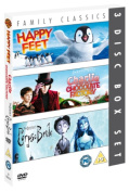 Happy Feet/Charlie and the Chocolate Factory/Corpse Bride [Region 2]