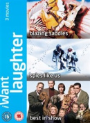 Best in Show/Blazing Saddles/Spies Like Us [Region 2]