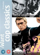 Bullitt/Dirty Harry/Lethal Weapon [Region 2]