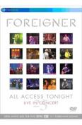 Foreigner: All Access Tonight [Region 2]
