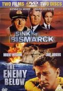 The Enemy Below/Sink the Bismarck! [Region 2]