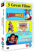 Johnson Family Vacation/Like Mike/Roll Bounce [Region 2]