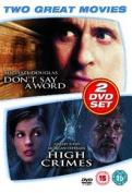 Don't Say a Word/High Crimes [Region 2]