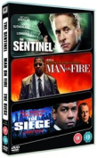 Sentinel/Man On Fire/The Siege [Region 2]