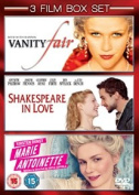 Shakespeare in Love/Marie Antoinette/Vanity Fair [Region 2]