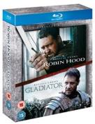 Robin Hood/Gladiator [Region B] [Blu-ray]