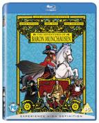 The Adventures of Baron Munchausen [Regions 1,2,3] [Blu-ray]