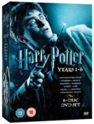 Harry Potter 1-6 [Region 2]