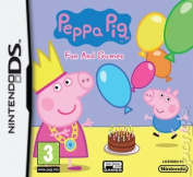Peppa Pig Fun and Games. Nintendo DS Game.