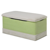 Harmony Kids Lime Micro With White Plush Deluxe Toy Box