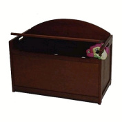 Lipper 598E Toy Chest Espresso for the HomeKids Room Furniture
